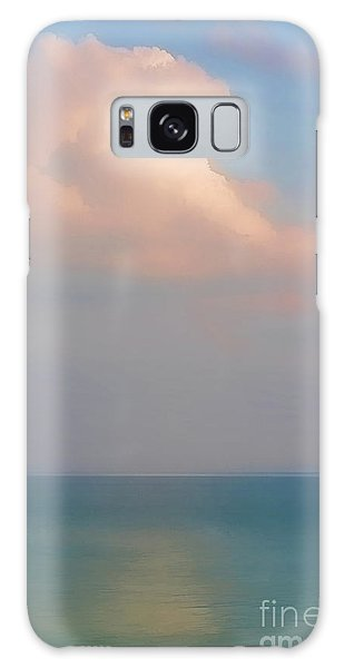 Pastel Seascape Galaxy Case by Clare VanderVeen