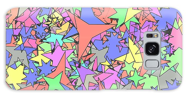 Pastel Stars Galaxy Case