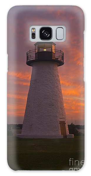 Pastel Sunset At Ned'spoint Galaxy Case