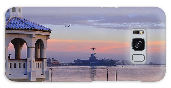 Pastel Uss Lexington Galaxy Case
