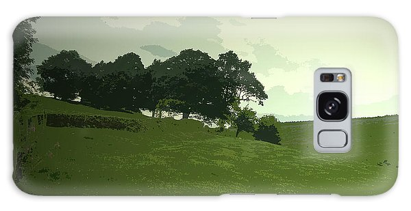 Pasture Galaxy Case - Pasture At Edale End, Looking Across Jaggers Clough Towards by Litz Collection