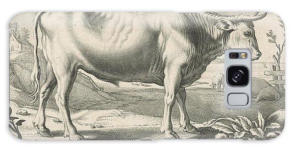 Pasture Galaxy Case - Pasture With An Ox, Reinier Van Persijn, Jacob Gerritsz Cuyp by Reinier Van Persijn And Jacob Gerritsz Cuyp And Nicolaes Visscher (i)