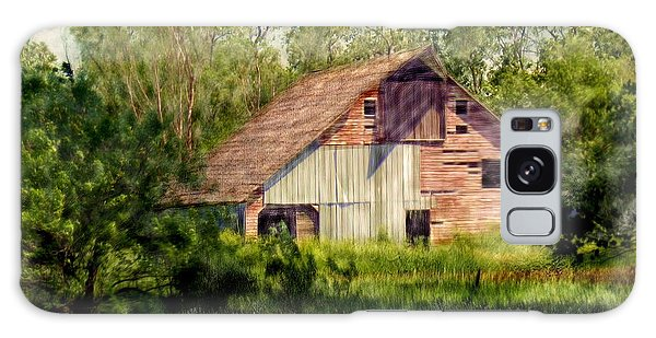 Patchwork Barn Galaxy Case by Ric Darrell