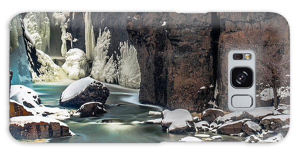 Paterson Falls Frozen Fantasy Galaxy Case
