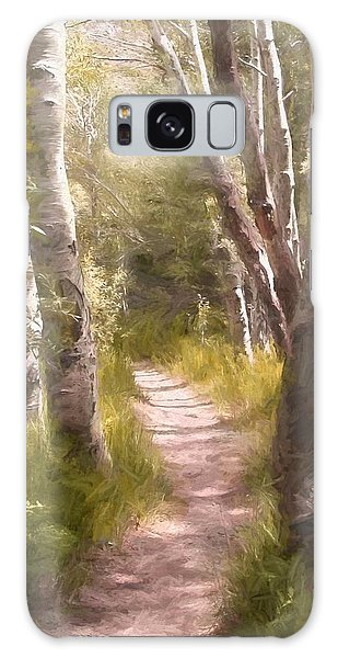 Path 1 Galaxy Case by Pamela Cooper