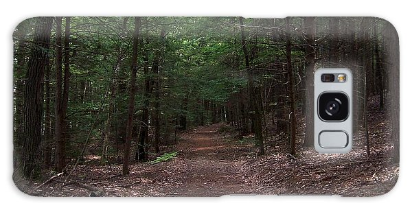 Path In The Woods Galaxy Case by Catherine Gagne