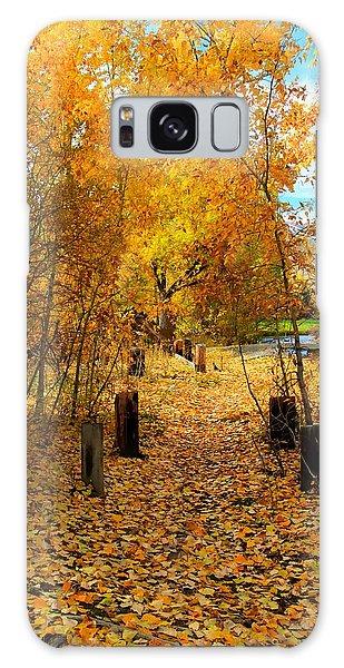 Path Of Fall Foliage Galaxy Case