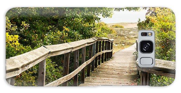 Path To The Beach Galaxy Case by Nancy De Flon
