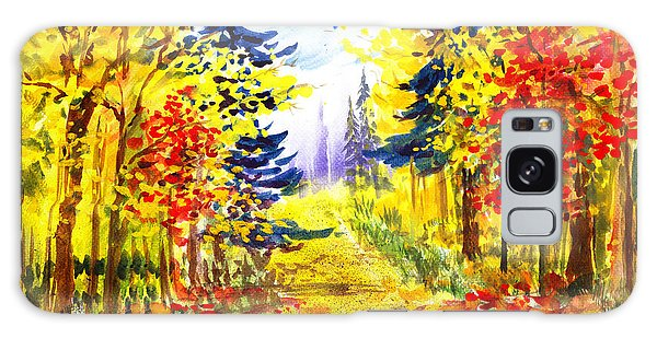 Outdoor Dining Galaxy Case - Path To The Fall by Irina Sztukowski