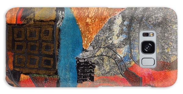 Paths Galaxy Case by Catherine Redmayne