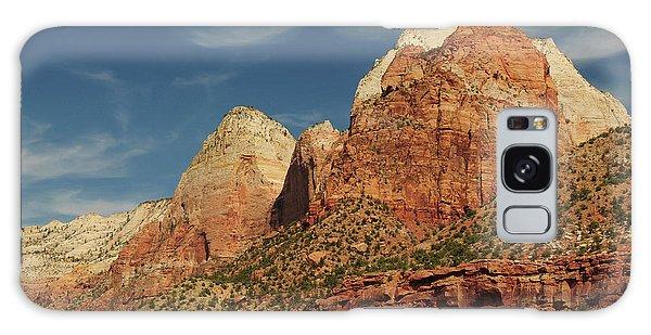 Desert Flora Galaxy Case - Patriarchs, Zion National Park, Utah by Michel Hersen