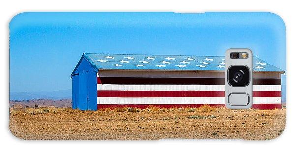 Patriotic Barn Galaxy Case