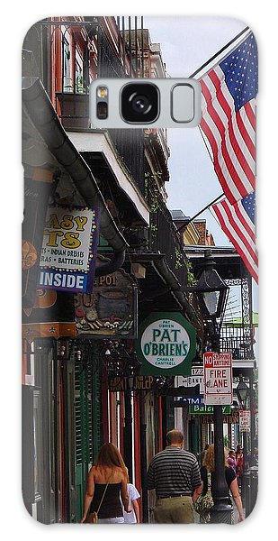 Patriotic Pat Obriens Galaxy Case by Margaret Bobb