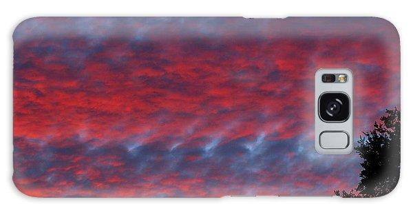 Patriotic Sky At Sunset Galaxy Case