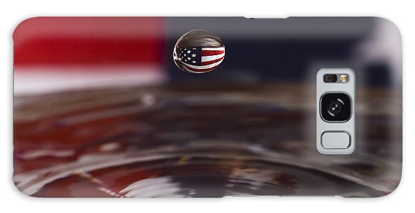 America Galaxy Case by Anthony Sacco