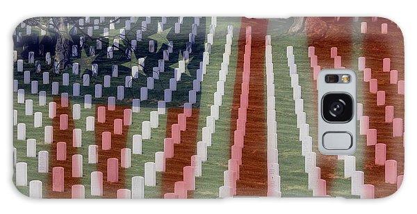 Patriotism Galaxy Case by Patti Whitten