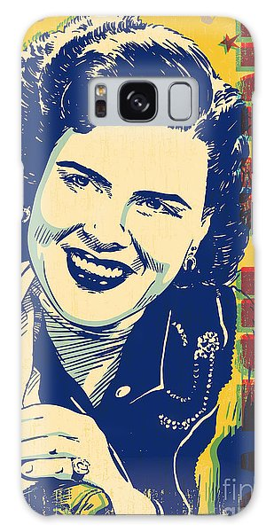 Patsy Cline Pop Art Galaxy Case