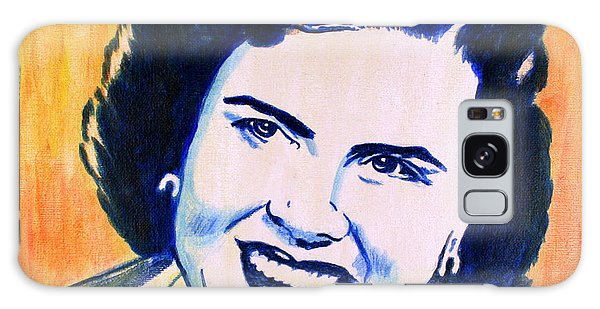 Patsy Cline Pop Art Painting Galaxy Case