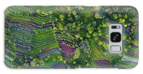 Farmland Galaxy Case - Pattern by Farid Yuwono