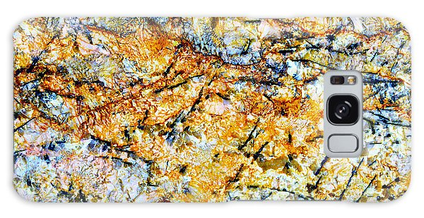 Stone Galaxy Case - Patterns In Stone - 181 by Paul W Faust -  Impressions of Light