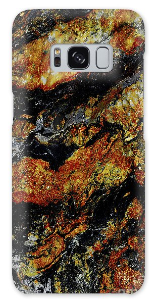 Stone Galaxy Case - Patterns In Stone - 219 by Paul W Faust -  Impressions of Light