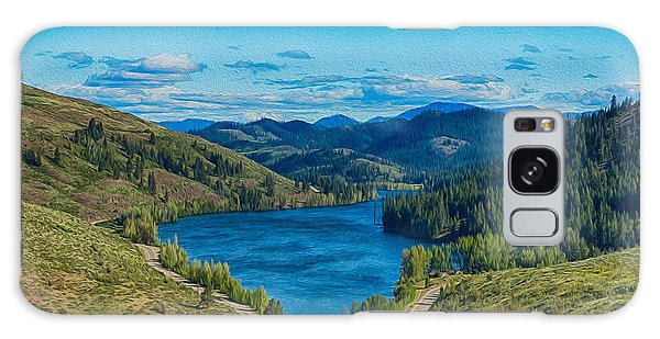 Patterson Lake In The Summer Galaxy Case