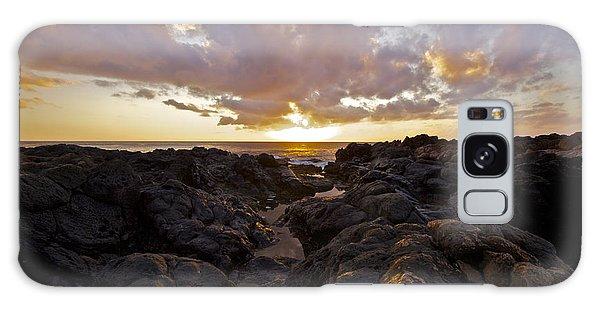 Pau Hana Sunset Galaxy Case