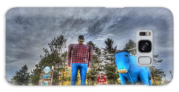 Paul Bunyan And Babe The Blue Ox In Bemidji Galaxy Case