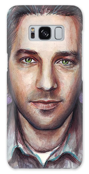Paul Rudd Portrait Galaxy Case