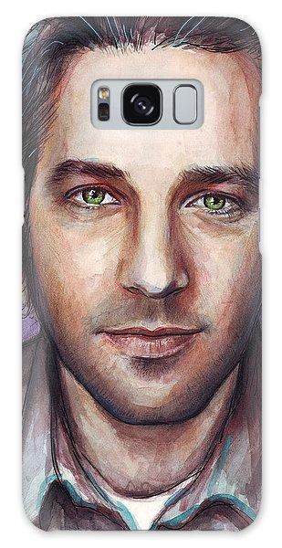 Celebrity Galaxy Case - Paul Rudd Portrait by Olga Shvartsur