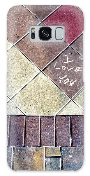 Paver Stones Galaxy Case by K Simmons Luna
