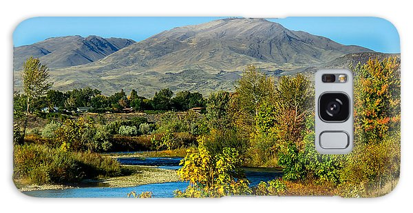 Payette River And Squaw Butte Galaxy Case