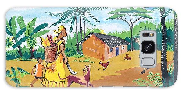 Paysage Du Sud Du Cameroon Galaxy Case by Emmanuel Baliyanga