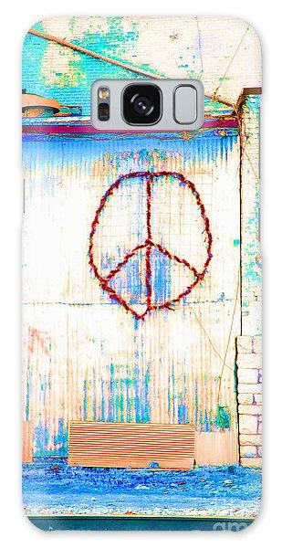 Peace 1 Galaxy Case by Minnie Lippiatt