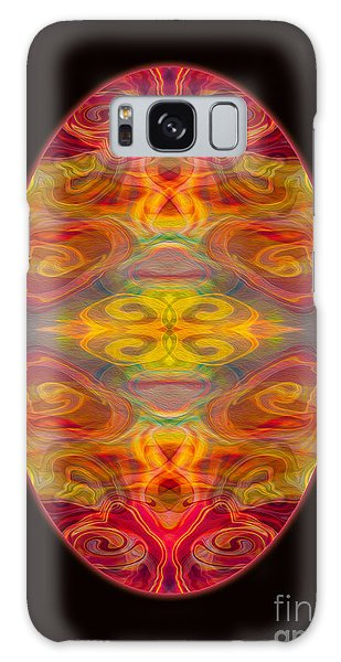 Peace And Harmony Abstract Healing Art Galaxy Case