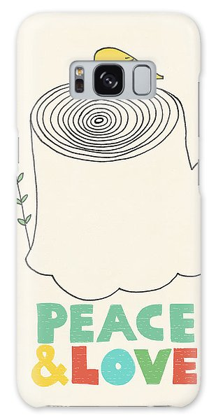 Cause Galaxy Case - Peace And Love by Eric Fan
