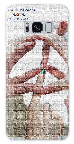 Peace Galaxy Case by Barbara West