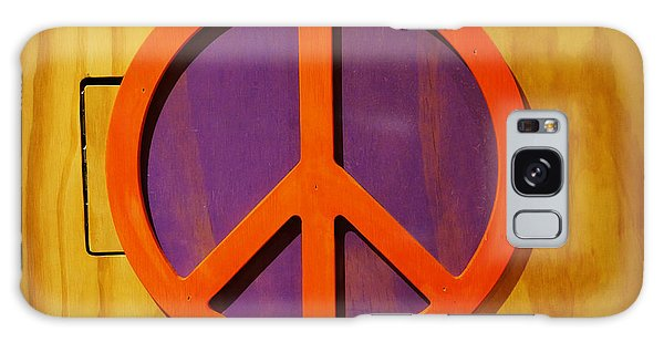 Peace Decal Galaxy Case