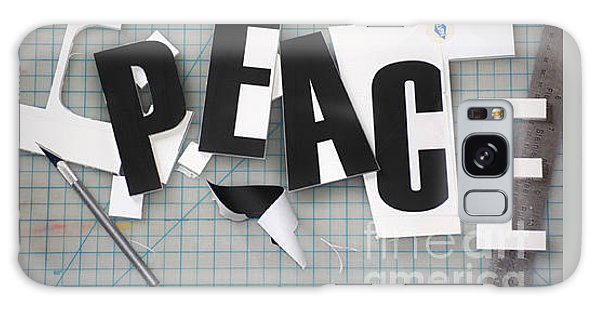 Peace In Pieces Galaxy Case