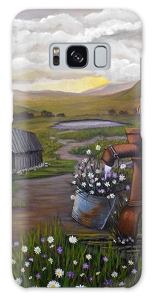 Peace In The Valley Galaxy Case by Sheri Keith