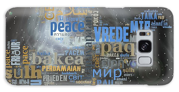 Peace Is A Universal Language Galaxy Case