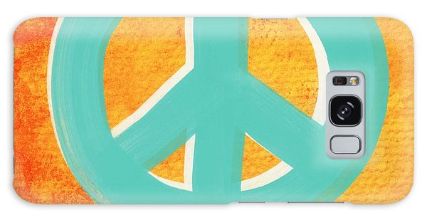 Peace Galaxy Case - Peace by Linda Woods