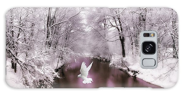 Peace On Earth   Galaxy Case by Jessica Jenney