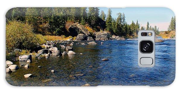 Peace On The Spokane River 2 Galaxy Case