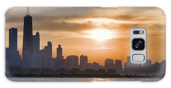 Peaceful Chicago Galaxy Case by John Hansen
