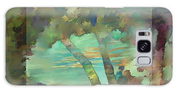 Peaceful Dawn Galaxy Case by Ursula Freer
