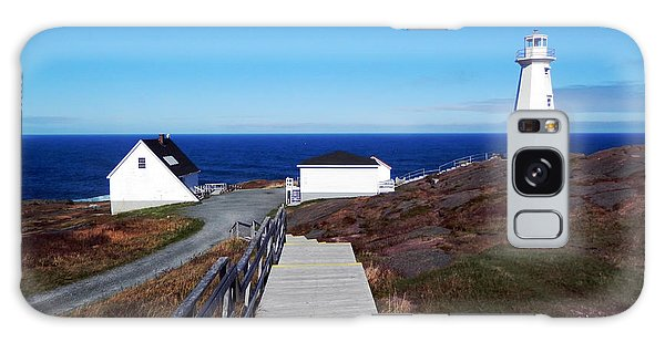 Peaceful Day At Cape Spear Galaxy Case