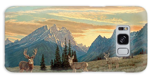 Teton Galaxy Case - Peaceful Evening - Tetons by Paul Krapf