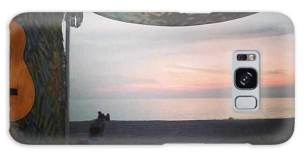 Peaceful Makua Evening Galaxy Case by Erika Swartzkopf