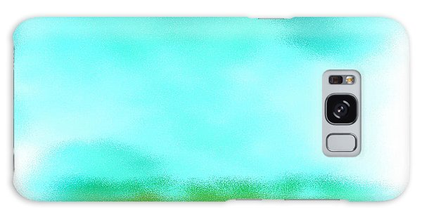 Peaceful Noise Galaxy Case by Anita Lewis